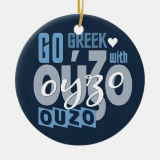 Ouzo custom ornament