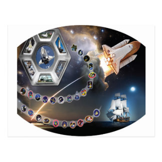 OV 105 Endeavour Post Card