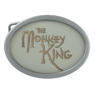 Oval (Grey BK) Belt Buckle of The Monkey King