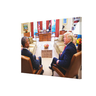 Oval Office Meeting 2 Days After Election Canvas Print