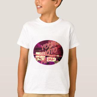 Oval Photo Frame T-Shirt