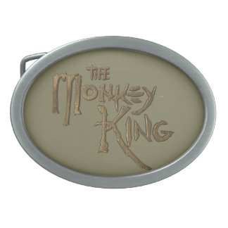 Oval (Taupe BK) Belt Buckle of The Monkey King