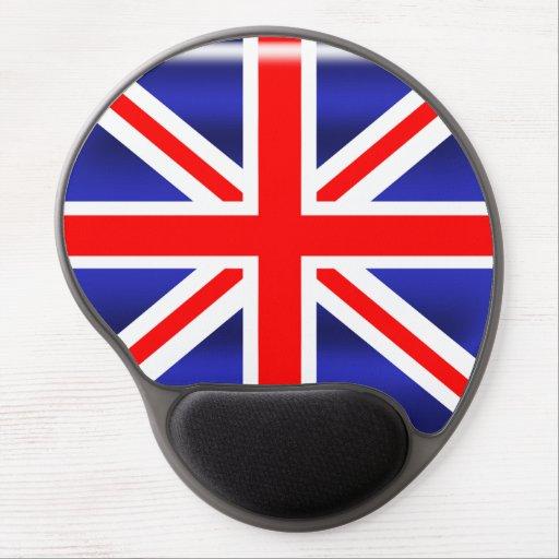 Oval Union Jack Gel Mouse pad