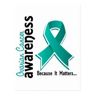Ovarian Cancer Awareness 5 Postcard