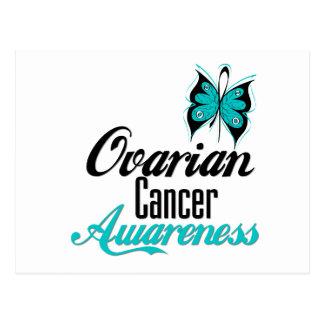 Ovarian Cancer Awareness Butterfly Postcard