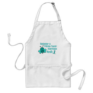 Ovarian Cancer Awareness Month Bee 1.3 Standard Apron