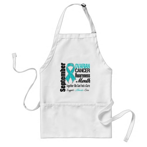 Ovarian Cancer Awareness Month Tribute Aprons