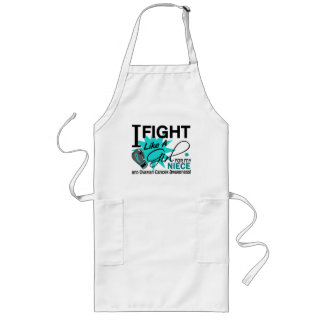 Ovarian Cancer Fight Like A Girl Niece 11 Aprons
