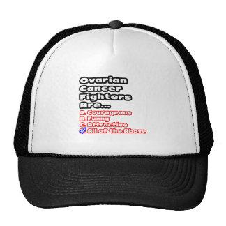 Ovarian Cancer Fighter Quiz Mesh Hat