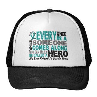 Ovarian Cancer Hero Comes Along BEST FRIEND Cap