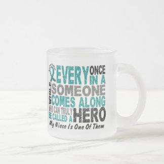 Ovarian Cancer Hero Comes Along NIECE Mug