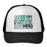 Ovarian Cancer Hero Comes Along SISTER-IN-LAW Trucker Hats