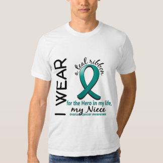 Ovarian Cancer Hero In My Life Niece 4 T Shirts