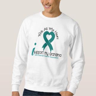 Ovarian Cancer I Support My Grandma Sweatshirt