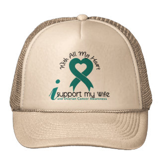 Ovarian Cancer I Support My Wife Cap