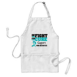 Ovarian Cancer In The Fight For The Cure Apron
