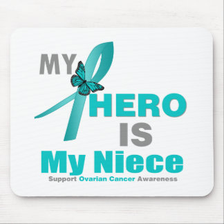 Ovarian Cancer My Hero is My Niece Mouse Pad