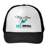 Ovarian Cancer My Hero My Wife Cap