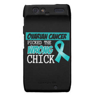 Ovarian Cancer Picked The Wrong Chick Droid RAZR Cover
