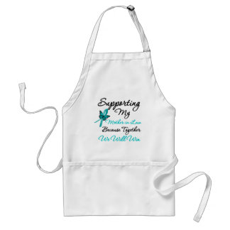 Ovarian Cancer Supporting My Mother-in-Law Aprons