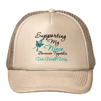 Ovarian Cancer Supporting My Niece Hats