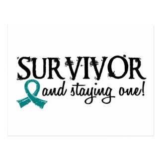 Ovarian Cancer Survivor 18 Postcard