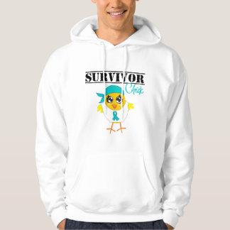 Ovarian Cancer Survivor Chick Hoodie