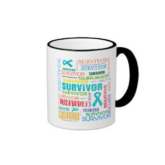 Ovarian Cancer Survivor Collage.png Mugs