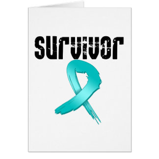 Ovarian Cancer SURVIVOR Greeting Card