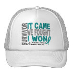 Ovarian Cancer Survivor It Came We Fought I Won Cap