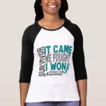 Ovarian Cancer Survivor It Came We Fought I Won Tshirts