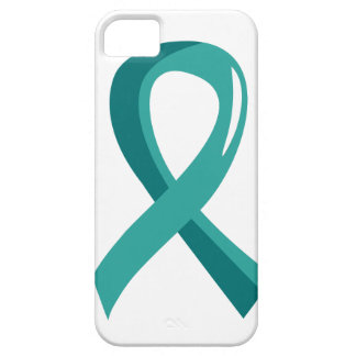 Ovarian Cancer Teal Ribbon 3 iPhone 5 Covers