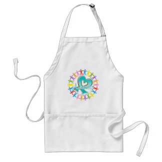 Ovarian Cancer Unite in Awareness Aprons