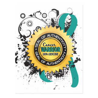 Ovarian Cancer Warrior 23 Postcard