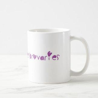 Ovaries before Brovaries Basic White Mug