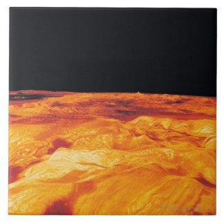 Ovda Regio on Venus Large Square Tile