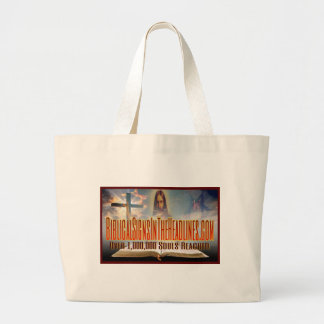 """""""Over 1,000,000 Souls"""" Large Tote Bag"""