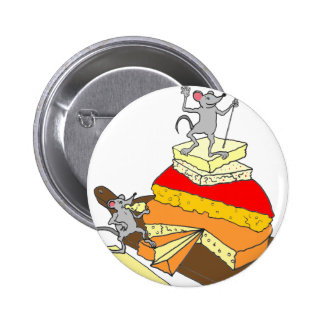 Over-Achiever Cheese Lover 6 Cm Round Badge