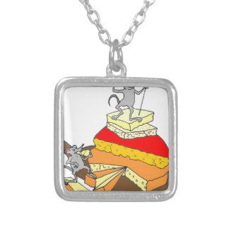 Over-Achiever Cheese Lover Custom Necklace