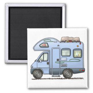 Over Cab Camper RV Magnet