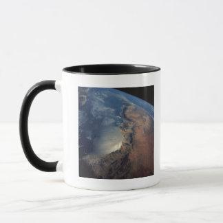 Over Gulf of Aden and Somalia Mug