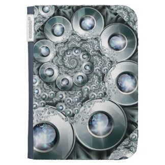 Over jeweled Caseable Case Kindle Keyboard Covers