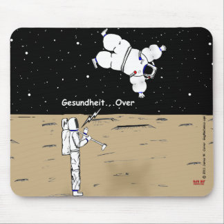 """Over"" Mouse Pad"