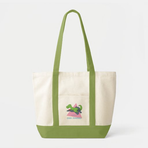 Over Powered Tote Canvas Bag