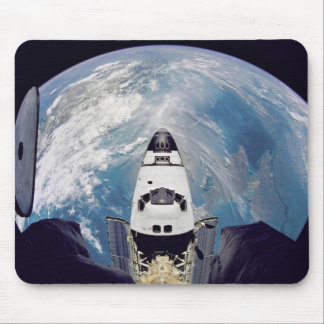 Over shuttle view mouse mat