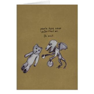 Over Tea Dragon and Break Greeting Card