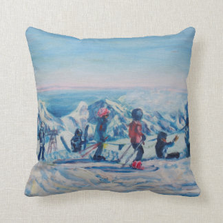 Over the clouds cushion