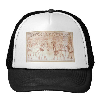 Over the Fence, 'A Score of pretty Girls' Vintage Hat