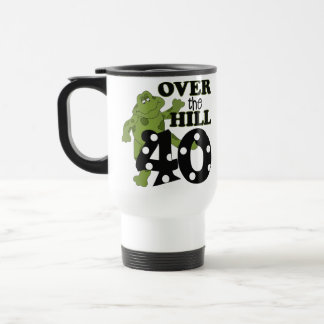 Over The Hill 40th Birthday Coffee Mug