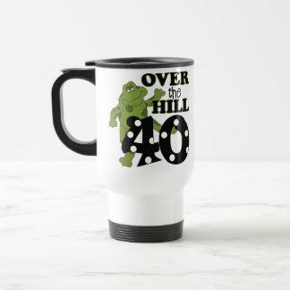 Over The Hill 40th Birthday Coffee Mug